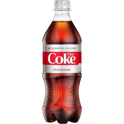 Diet Coke - 20 fl oz Bottle