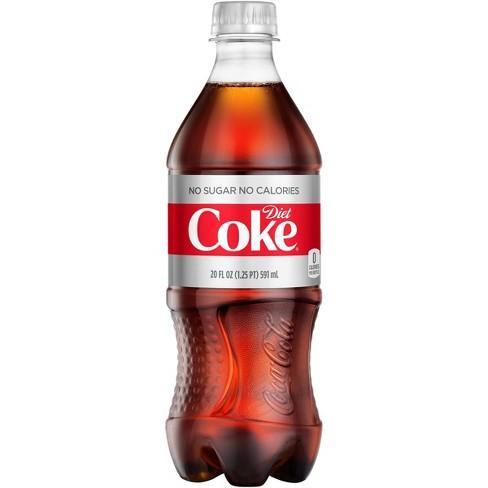 Diet Coke - 20 fl oz Bottle - image 1 of 4