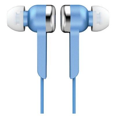 Supersonic Digital Stereo Earphones-Blue