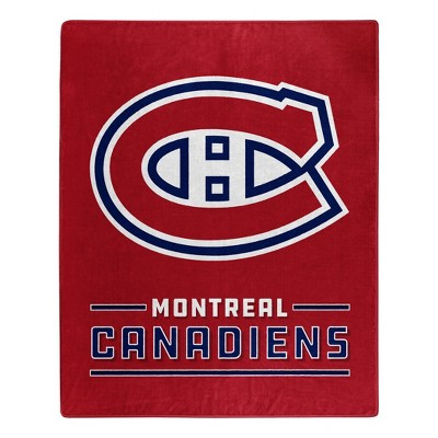 NHL Montreal Canadiens Throw Blanket