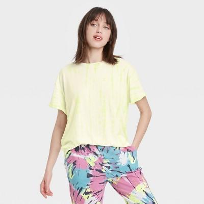 Women's Tie-Dye Oversized Lounge T-Shirt - Colsie™