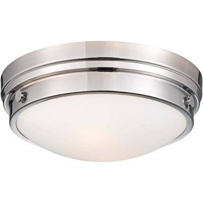 """Minka Lavery Culver Collection 13 1/4"""" Wide Chrome Ceiling Light"""