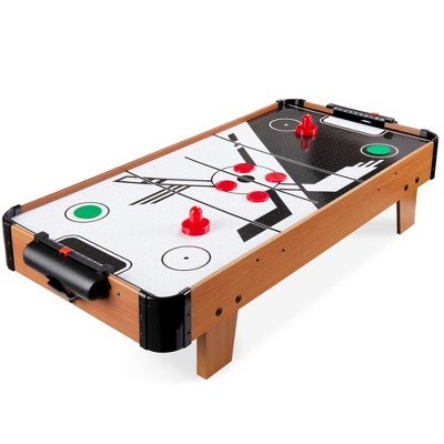 Best Choice Products 40in Air Hockey Arcade Table for Game Room, Living Room w/ Electric Fan Motor, 2 Strikers, 2 Pucks