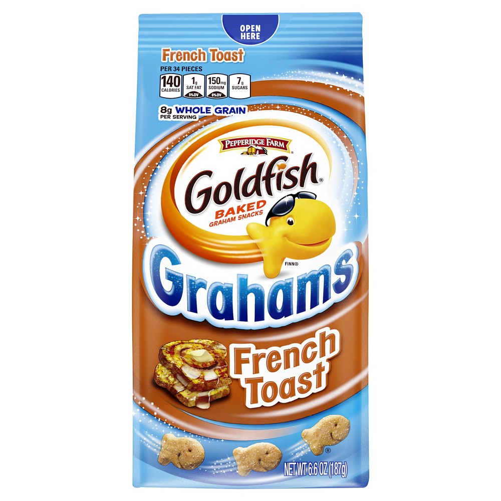 Pepperidge Farm Goldfish French Toast Grahams Baked Snack Crackers - 6.6 oz