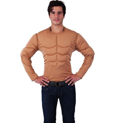 Orion Costumes Padded Muscle Chest Adult Costume Shirt - image 1 of 1