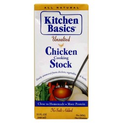 Kitchen Basics Unsalted Chicken Broth 32 oz