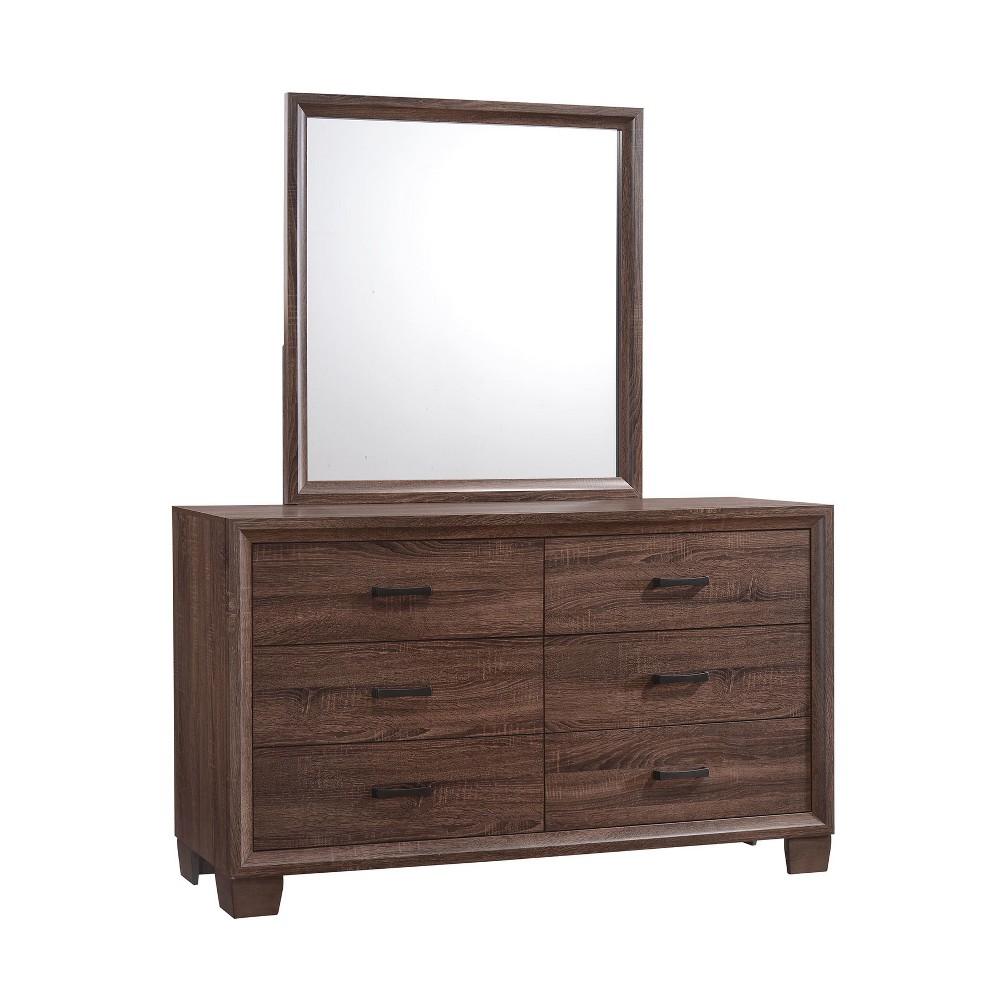 Image of Bridgeton 6 Drawer Dresser Medium Warm Brown - Private Reserve