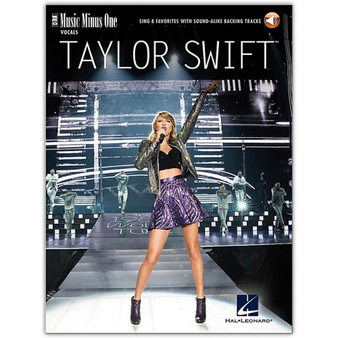Music Minus One Taylor Swift - Sing 8 Favorites - Music Minus One Series Book/Audio Online - image 1 of 1