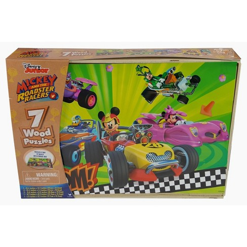 Cardinal Mickey and the Roadster Racers 7pk Wood Puzzle - 108pc - image 1 of 1