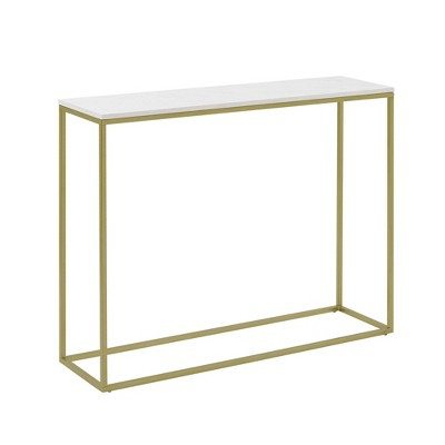 "42"" Open Box Entry Table - Saracina Home"
