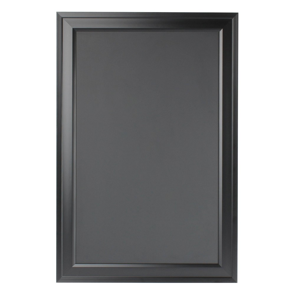 "Image of ""15"""" x 24"""" Bosc Chalkboard Black - DesignOvation"""