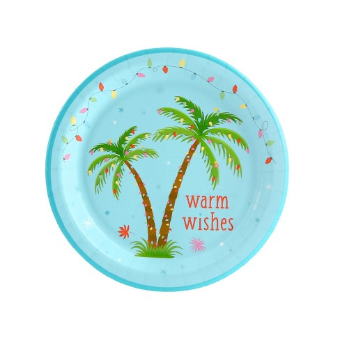 "24ct ""Warm Wishes"" Dessert Plate - image 1 of 1"