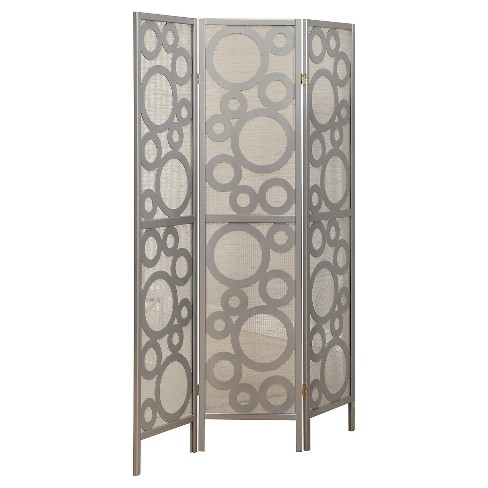 Folding Screen - Silver - EveryRoom - image 1 of 1