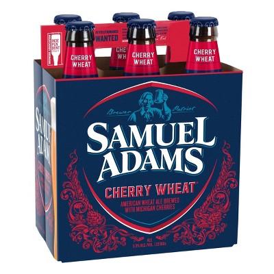 Samuel Adams Cherry Wheat Beer - 6pk/12 fl oz Bottles