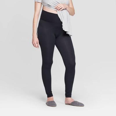Women's Beautifully Soft Leggings Postpartum Pajama Pants - Stars Above™ Black S