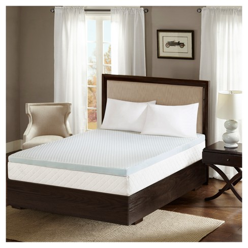 "2"" Gel Memory Foam Mattress Topper - image 1 of 3"