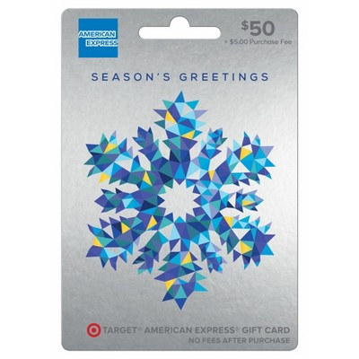 American Express Holiday Gift Card - $50 + $5 Fee