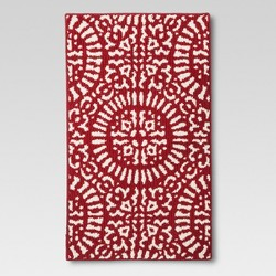 Red Medallion Kitchen Rug - Threshold™