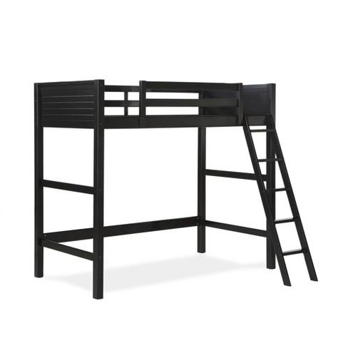 Houston Loft Bed Black - Dorel Living - image 1 of 4