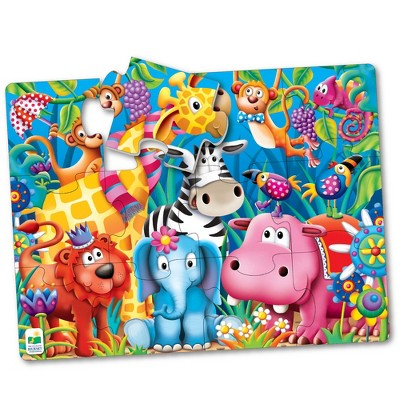 The Learning Journey My First Big Floor Puzzle Jungle Friends 12 pcs