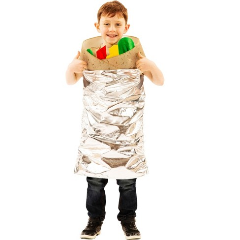 Orion Costumes Burrito Costume For Kids | Easy Pull Over Design | Sized To Fit Most Children : Target