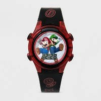 Deals on Boys' Super Mario Flashing LCD Watch