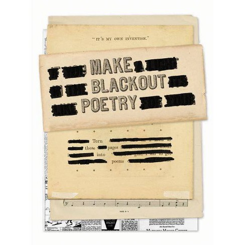Make Blackout Poetry -  by John Carroll (Paperback) - image 1 of 1