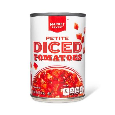Petite Diced Tomatoes 14.5 oz - Market Pantry™