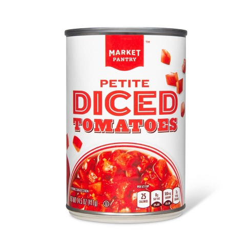 Petite Diced Tomatoes 14.5 oz - Market Pantry™ - image 1 of 1
