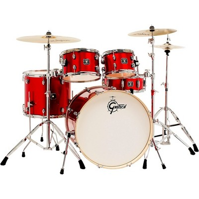 Gretsch Drums Energy 5-Piece Drum Set With Hardware and Zildjian Cymbals Red