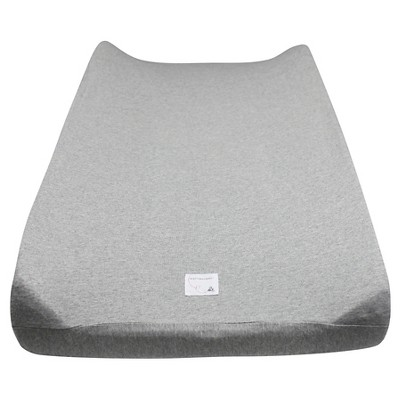 Burt's Bees Baby® Organic Changing Pad Cover - Solid - Heather Gray