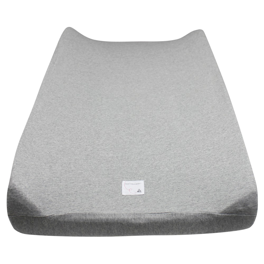 Burt S Bees Baby 174 Organic Changing Pad Cover Solid Heather Gray