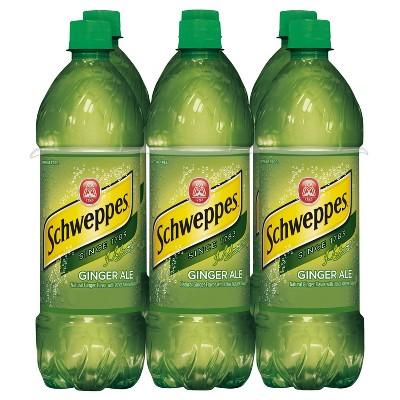 Schweppes Ginger Ale - 6pk/0.5 L Bottles