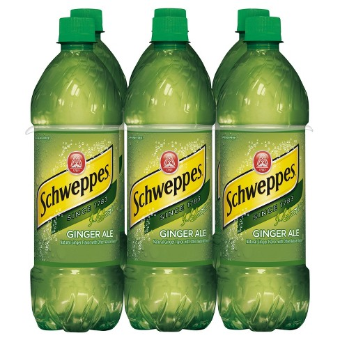 Schweppes Ginger Ale - 6pk/0.5 L Bottles - image 1 of 3