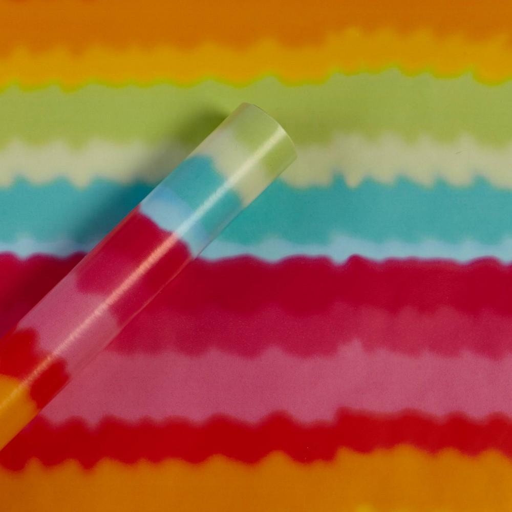 Image of Tie Dye Stripes Gift Wrap Paper - Spritz