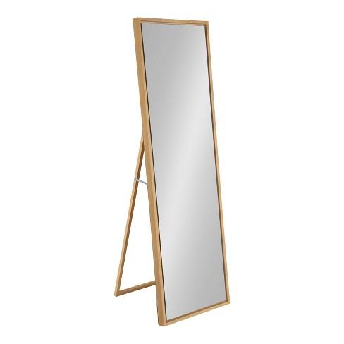 18 X 58 Free Standing Floor Mirror, Free Standing Leaning Mirror