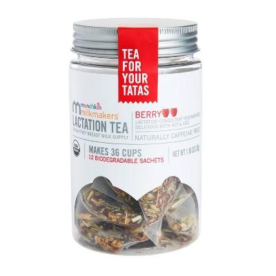 Munchkin Milkmakers Lactation Tea - Berry - 12ct