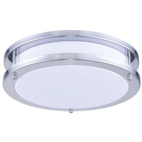 """Elegant Lighting LDCF3200 Daxter 12"""" Wide LED Flush Mount Ceiling Fixture - image 1 of 2"""
