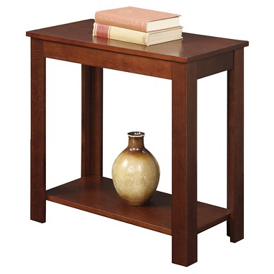 Baja Chairside End Table Mahogany - Breighton Home