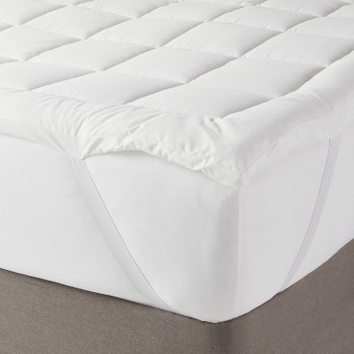 Machine Washable Quilted Pattern Mattress Pad - Made By Design™