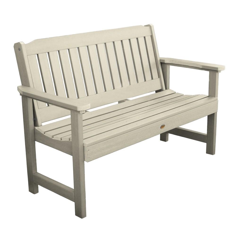 Lehigh Garden Bench 4ft Whitewash - Highwood, Off White
