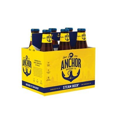 Anchor Steam Beer - 6pk/12 fl oz Bottles