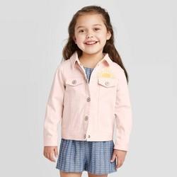 Toddler Girls' Sun Denim Jacket - art class™ Pink