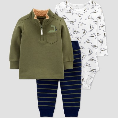 Baby Boys' Dino Top & Bottom Set - Just One You® made by carter's Green 3M