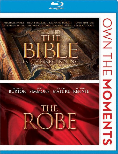 The Bible: In the Beginning/The Robe (2 Discs) (Blu-ray) - image 1 of 1