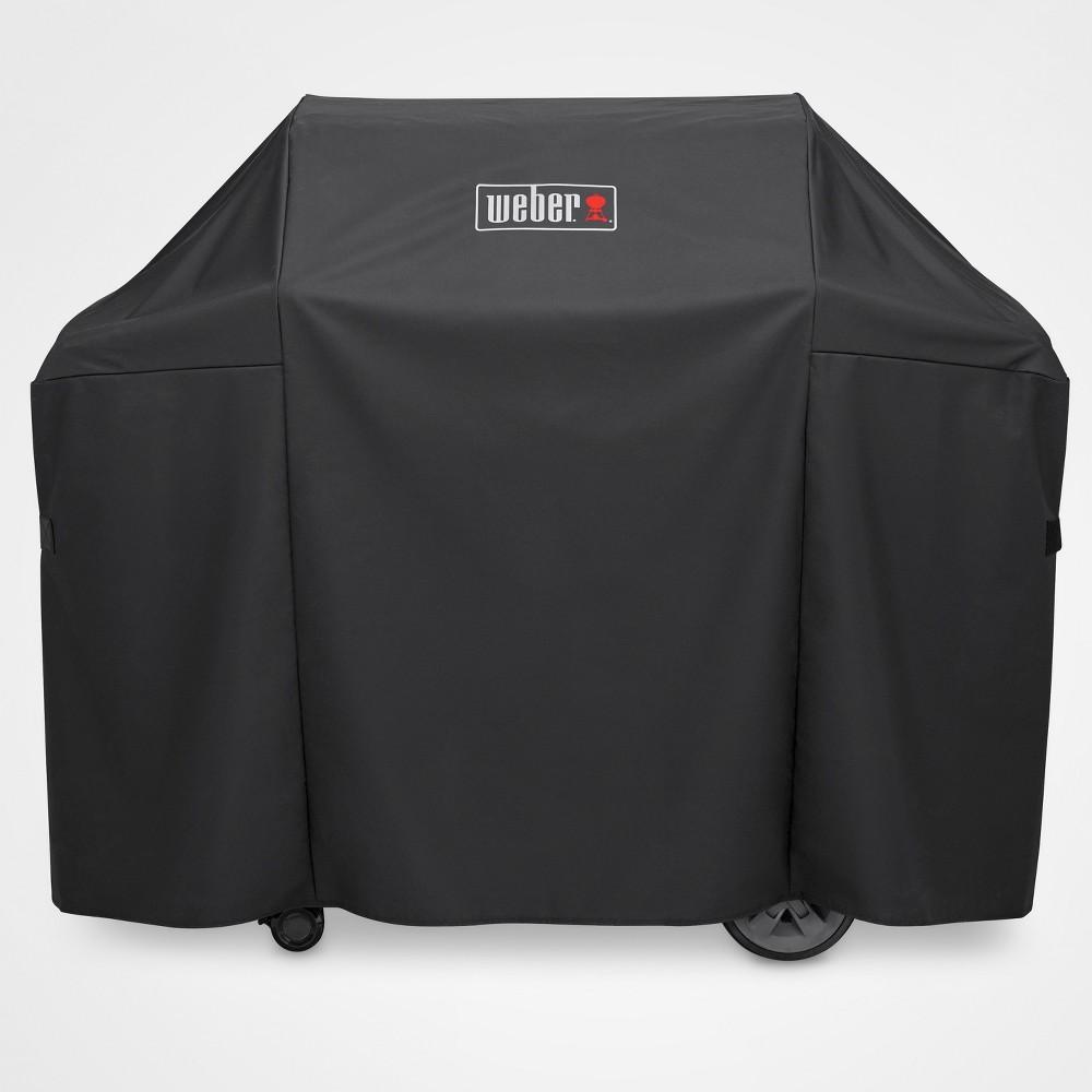 Weber Genesis II 3 Burner Premium Cover- Black 51818639