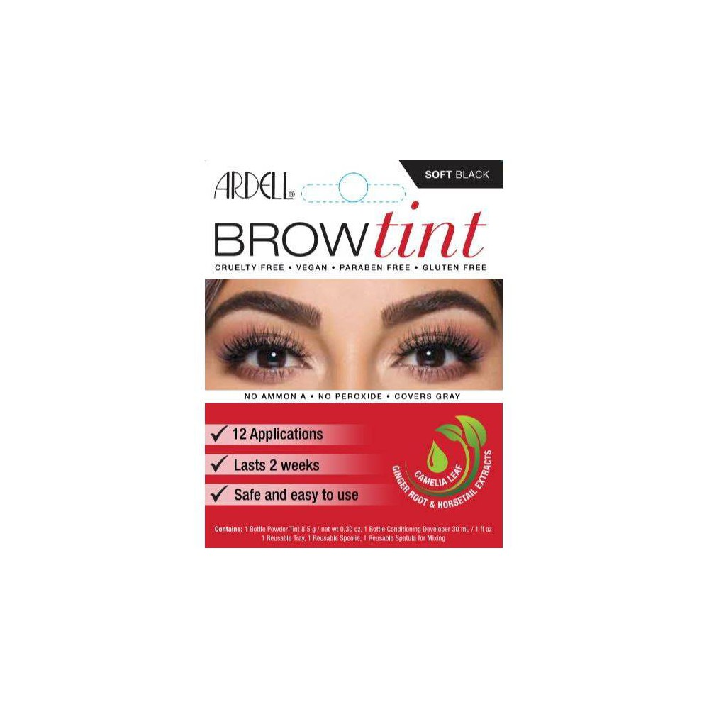 Image of Ardell Brow Tint Soft Black - 12ct