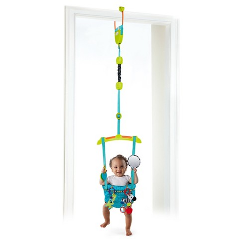 72cf3d14a432 Bright Starts™ Spring And Bounce Deluxe Door Jumper   Target