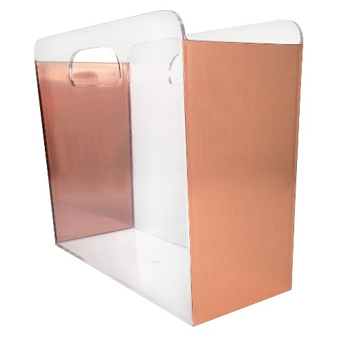 File Box Clear With Copper Foil Sides Threshold