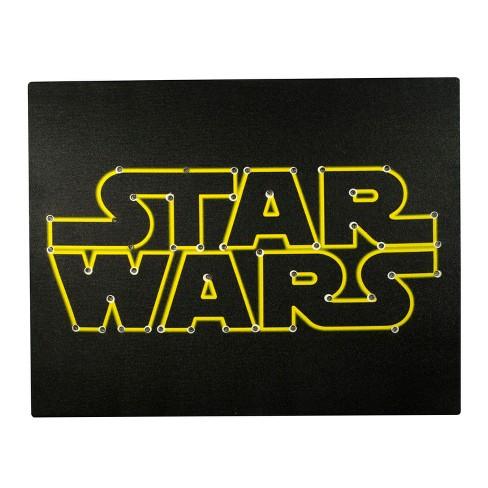 star wars logo light up wall canvas 16 x20 target